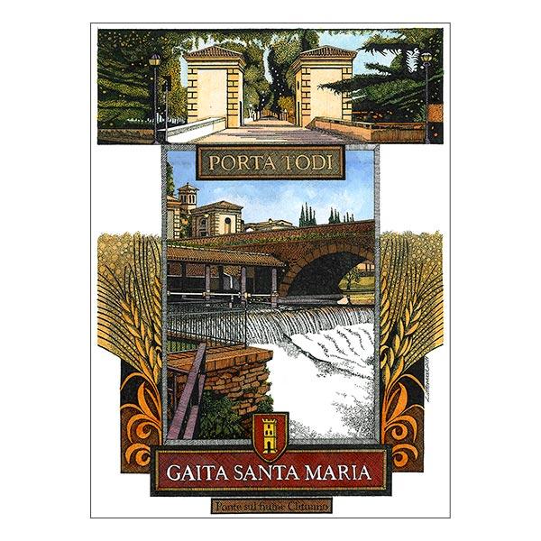 Gaita Santa Maria - Porta Todi