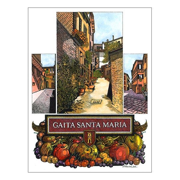 Gaita Santa Maria - Vicolo Sant'Agostino